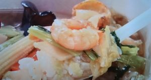 10品目の海鮮中華丼