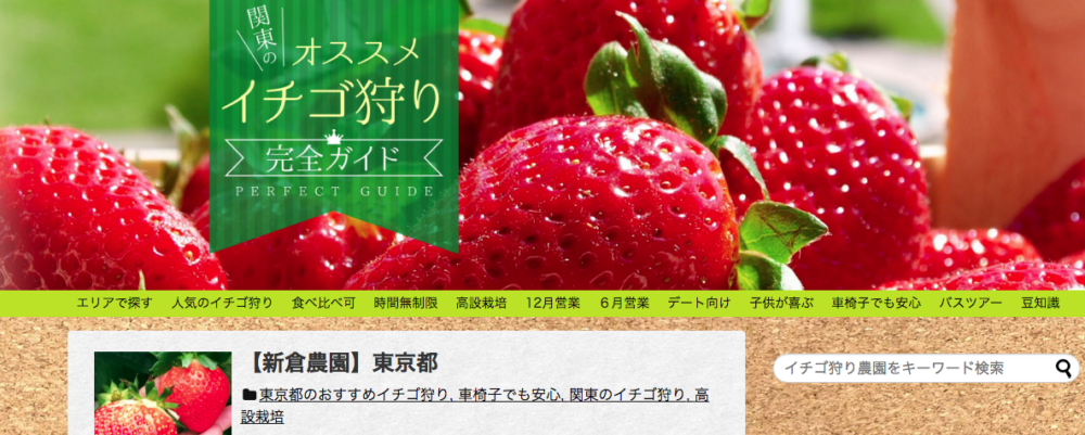 関東おすすめイチゴ狩り完全ガイド