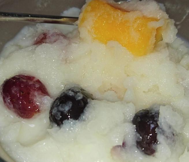 カルピスシャーベット セブンイレブン冷凍フルーツの食べ方