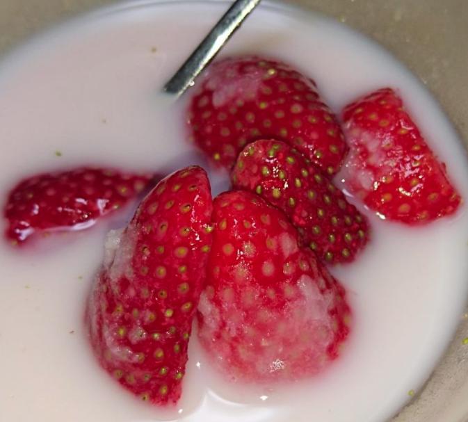 いちごミルク セブンイレブン冷凍フルーツの食べ方